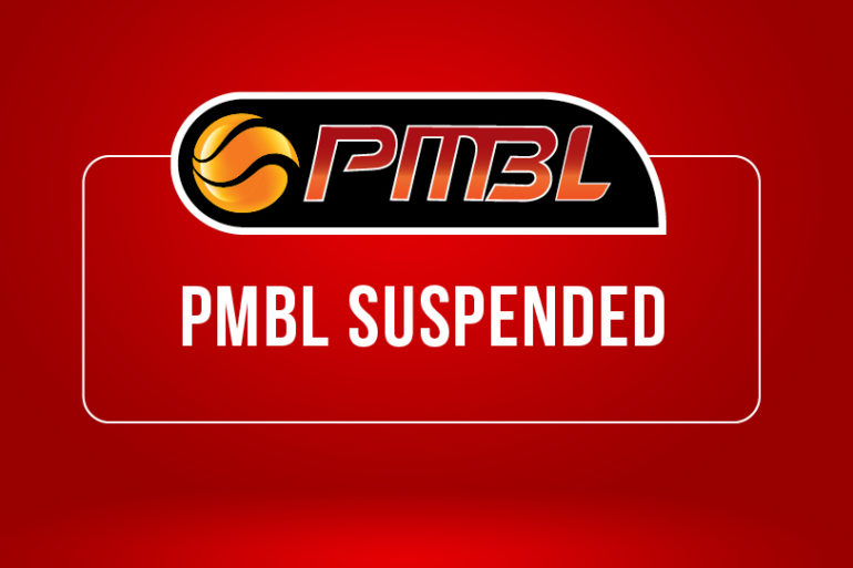 2020 PMBL Winter Season Suspended