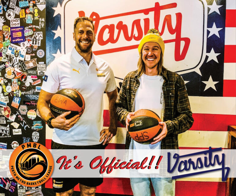 IT'S OFFICIAL! BWA PARTNERS WITH VARSITY!